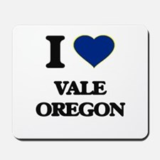 I love Vale Oregon Mousepad