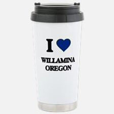 I love Willamina Oregon Travel Mug