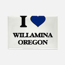 I love Willamina Oregon Magnets
