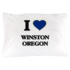 I love Winston Oregon Pillow Case
