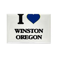 I love Winston Oregon Magnets