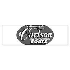 Art Carlson Bumper Bumper Sticker