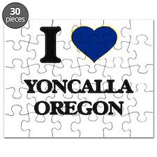 I love Yoncalla Oregon Puzzle