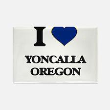 I love Yoncalla Oregon Magnets