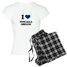 I love Yoncalla Oregon Pajamas