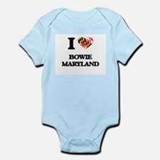 I love Bowie Maryland Body Suit