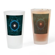 The Carbon Peacock Drinking Glass