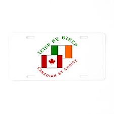 Irish Birth Canadian Choice Aluminum License Plate