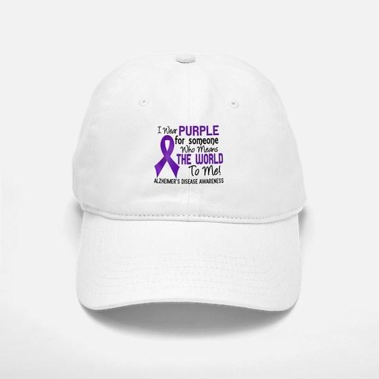 Alzheimer's MeansWorldToMe2 Baseball Baseball Cap