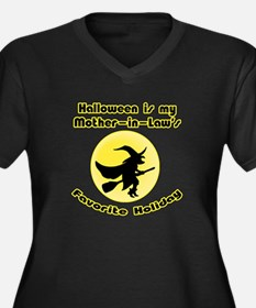 Mother in Law is a Witch Women's Plus Size V-Neck