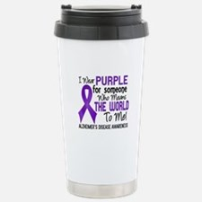 Alzheimer's MeansWorldT Stainless Steel Travel Mug