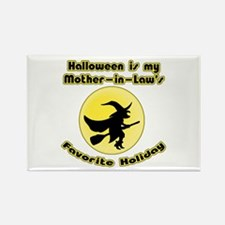 Mother in Law is a Witch Rectangle Magnet