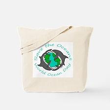 World Ocean Day Tote Bag