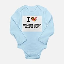 I love Hagerstown Maryland Body Suit