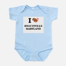 I love Hyattsville Maryland Body Suit