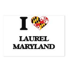 I love Laurel Maryland Postcards (Package of 8)