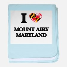 I love Mount Airy Maryland baby blanket