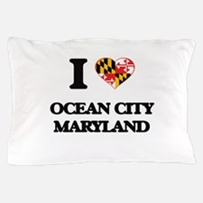 I love Ocean City Maryland Pillow Case
