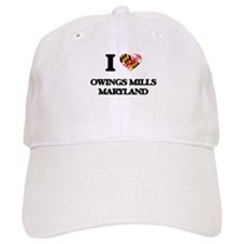 I love Owings Mills Maryland Baseball Cap