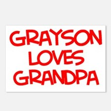 Hanna Loves Grandpa Postcards (Package of 8)