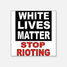 WHITE LIVES Sticker
