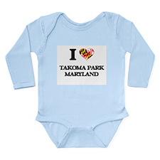 I love Takoma Park Maryland Body Suit