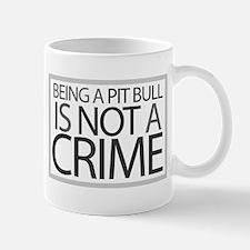 Pit Bull Not Crime Mug