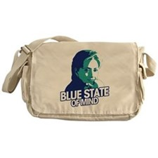 I've Got A Blue State Of Mind! Messenger Bag