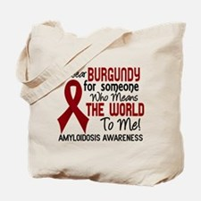 Amyloidosis MeansWorldToMe2 Tote Bag