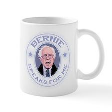 Bernie Speaks II Small Mug