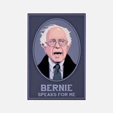 Bernie Speaks II Rectangle Magnet