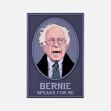 Bernie Speaks II Rectangle Magnet (10 pack)