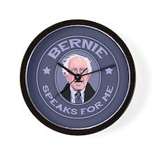 Bernie Speaks II Wall Clock