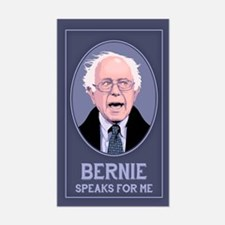 Bernie Speaks II Sticker (Rectangle)