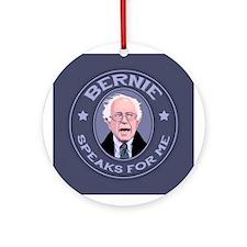 Bernie Speaks II Ornament (Round)