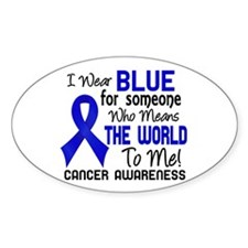 Anal Cancer MeansWorldToMe2 Decal