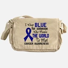Anal Cancer MeansWorldToMe2 Messenger Bag