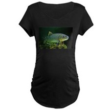 BROWN TROUT Maternity T-Shirt