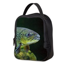BROWN TROUT Neoprene Lunch Bag