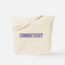 Connecticut Jersey Blue Tote Bag