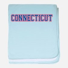 Connecticut Jersey Blue baby blanket