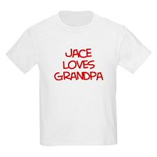 Jace Loves Grandpa T-Shirt