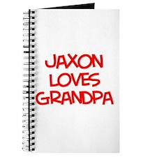 Jaxon Loves Grandpa Journal