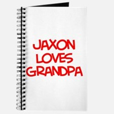 Jaxon Loves Grandpa Journal