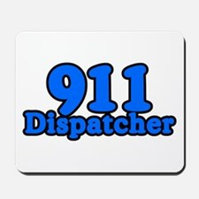 911 Dispatcher Mousepad