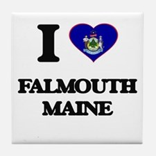 I love Falmouth Maine Tile Coaster