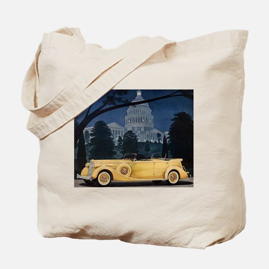 1936 Packard Tote Bag