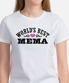 World's Best Mema Women's T-Shirt