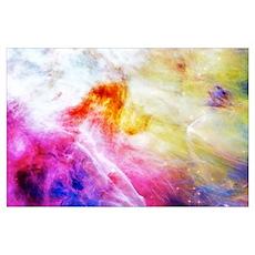 Hubble 1 Orion Nebula M42 Poster