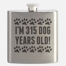 Im 315 Dog Years Old Flask